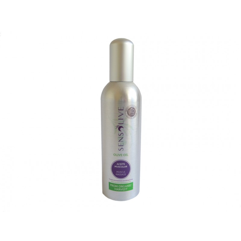Aceite Muscular Ecologico Sensolive 150 ml