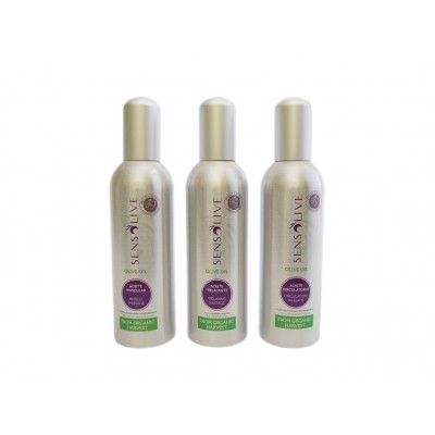 Aceites Relajante Muscular Circulatorio masaje terapéutico Sensolive 150 ml