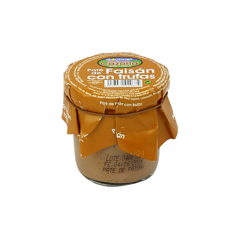 Paté de Faisán con Trufas 100 g