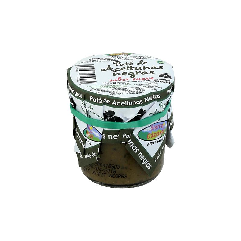 Paté de Aceitunas Negras 100 g