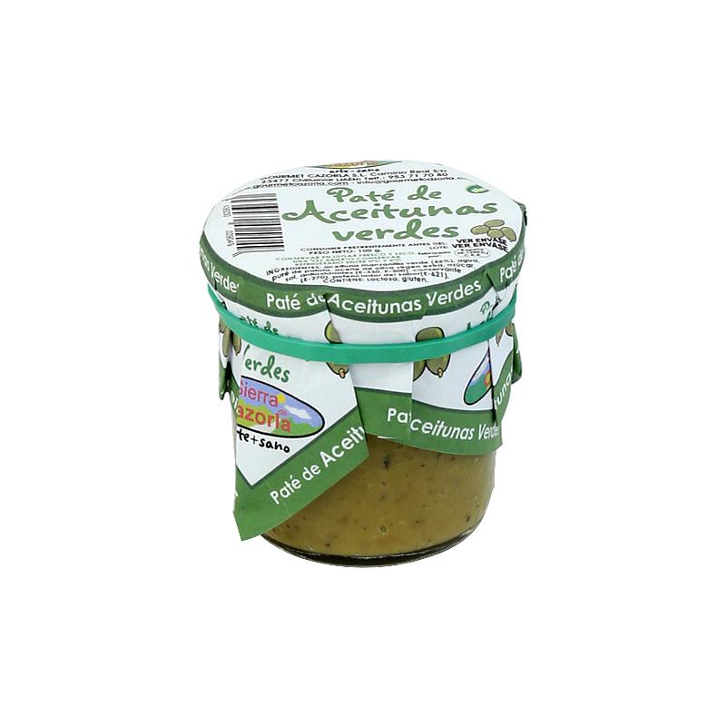 Paté de Aceitunas Verdes 100 g