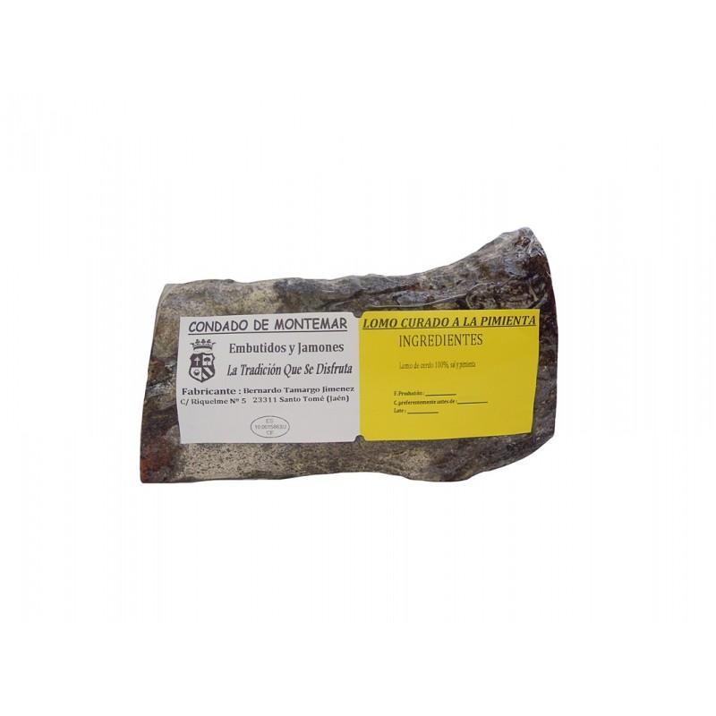 Lomo Curado a la Pimienta Embutidos y Jamones Condado de Montemar 550 g