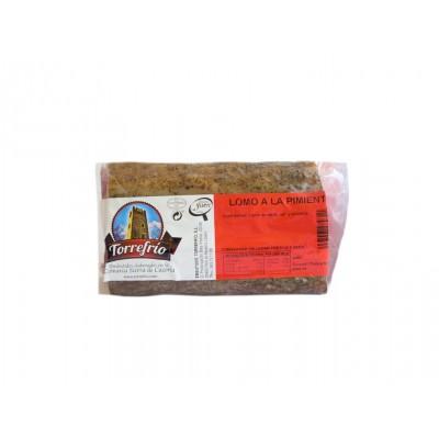 Lomo a la Pimienta Embutidos Torrefrío 200 g etiqueta