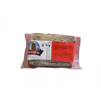 Lomo a las Finas Hierbas Embutidos Torrefrío 500 g etiqueta