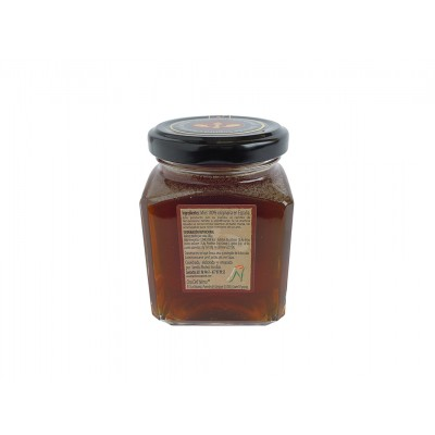 Miel Gourmet de Encina Oro del Yelmo 280 g etiqueta