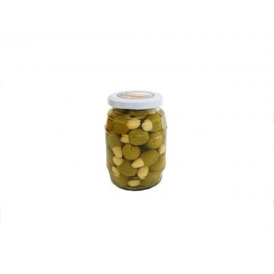 Aceituna con Almendra Aceitunas y Encurtidos El Yelmo 180 g