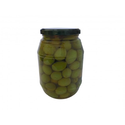 Aceitunas verdes rajadas YeYe DOMI 600 g
