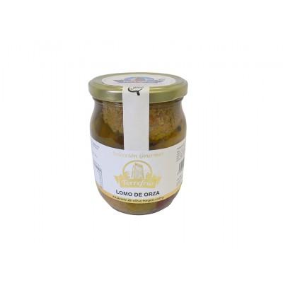 Lomo de Orza en Aceite de Oliva Virgen Extra 510 g Embutidos Torrefrío