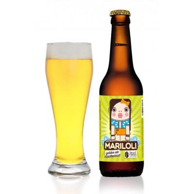 Cerveza Artesanal Mariloli (Estilo Golden Ale) 33 cl Rubia