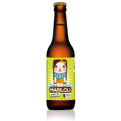 Cerveza Artesanal Mariloli (Estilo Golden Ale) 33 cl