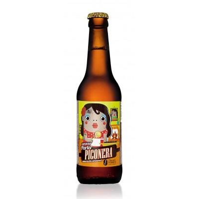 Cerveza Artesanal Piconera (Estilo Brown Porter) 33 cl
