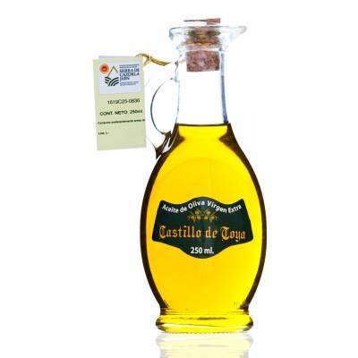 "Caja con 9 botellas ""Egipcia"" de 250 ml de Aceite de Oliva Virgen Extra Picual D.O. Sierra de Cazorla"