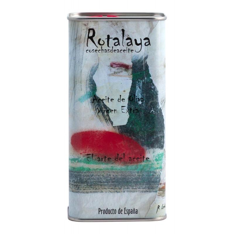 Lata de 500 ml Aceite de Oliva Virgen Extra variedad Hojiblanca de cosecha temprana Rotalaya 500 ml