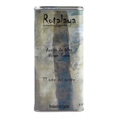 Lata de 500 ml Aceite de Oliva Virgen Extra variedad Cornicabra de cosecha temprana Rotalaya 500 ml