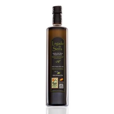 Caja con 12 botellas de 750 ml de Aceite de Oliva Virgen Extra Picual D.O. Sierra de Cazorla