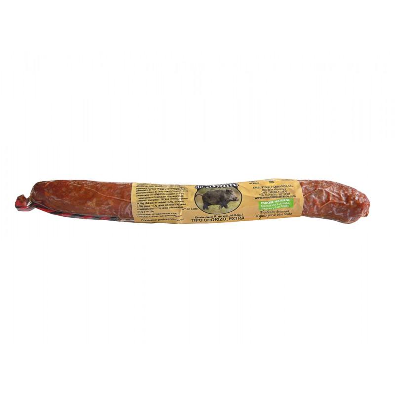 Chorizo de Jabalí Artesanal 250 g Embutidos Carrasco