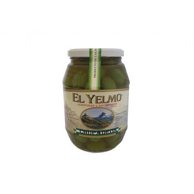Aceitunas Chupadeos Aceitunas y Encurtidos El Yelmo 550 g