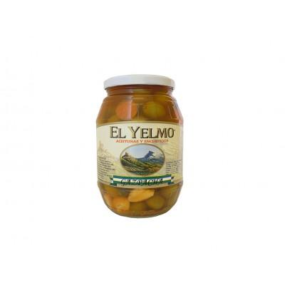 Aceituna Gazpacha 550 g Aceitunas y Encurtidos El Yelmo