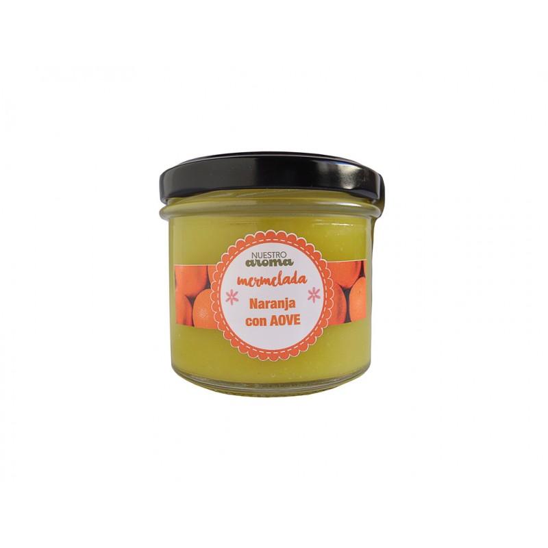 Mermelada natural de Naranja con AOVE 100 g Nuestro Aroma
