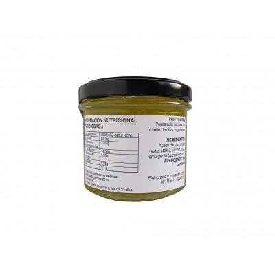Información nutricional e ingredientes de la Mermelada de AOVE 100 g Nuestro Aroma
