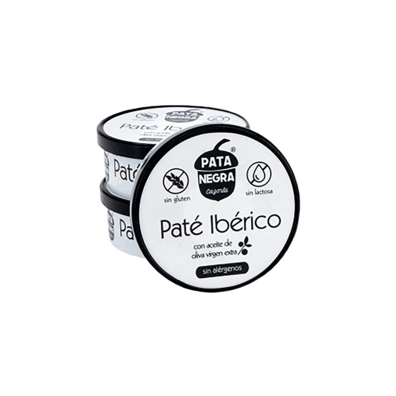 Paté Ibérico con Aceite de Oliva Virgen Extra Pata Negra 96 g