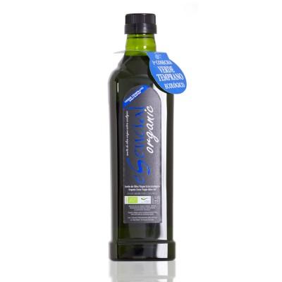 Botella de 1 litro de AOVE eSencial organic 1ª cosecha Verde Temprano Ecológico, variedad Picual D.O. Sierra de Cazorla (Jaén)