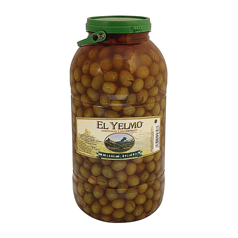 Aceitunas aliñadas Chupadeos 4,2 kg Aceitunas El Yelmo