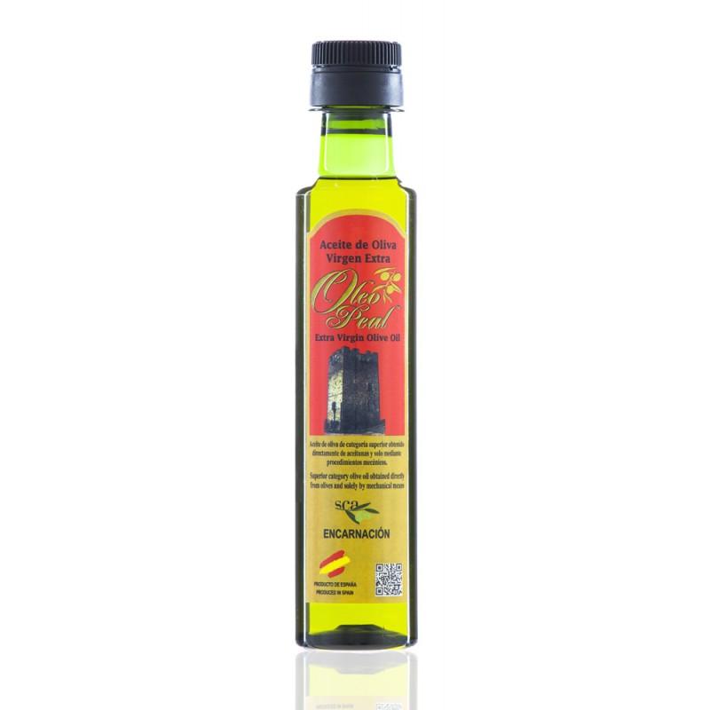 Aceite de Oliva Virgen Extra variedad Picual 250 ml Óleo Peal