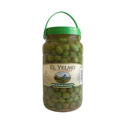 Aceitunas Chupadeos Aceitunas y Encurtidos El Yelmo 1,5 kg