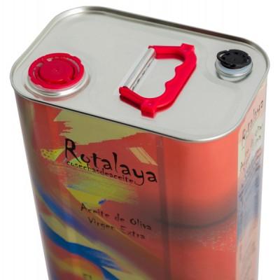 Aceite de Oliva Virgen Extra con D.O. Sierra de Cazorla, con doble tapón para servirlo cómodamente