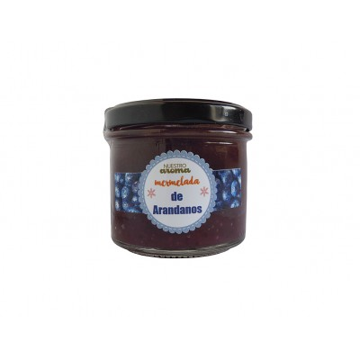 Mermelada natural de Arándanos con AOVE 100 g Nuestro Aroma