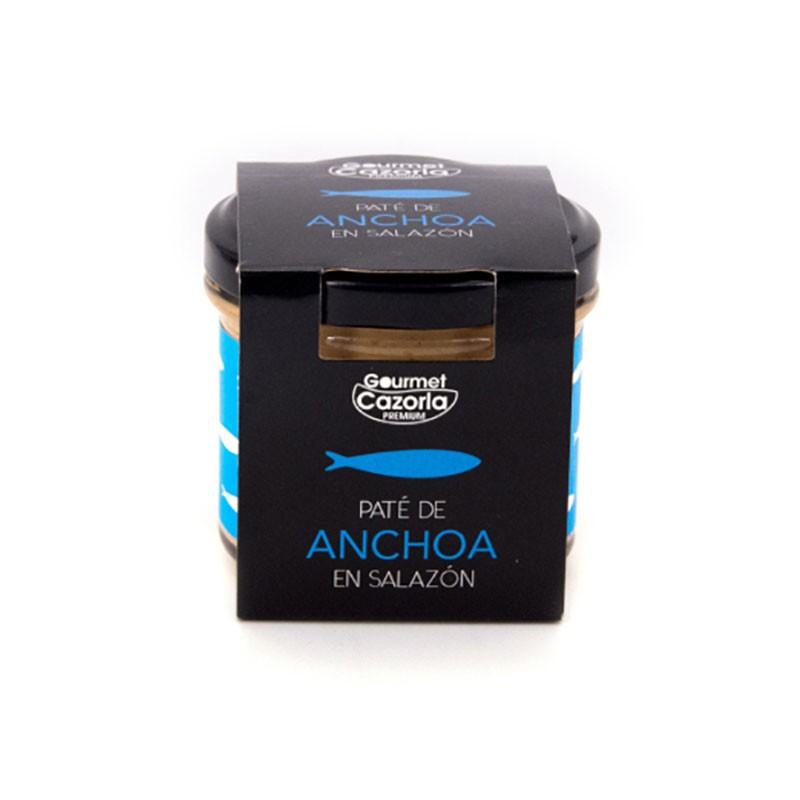 Paté de Anchoa en salazón 110 g Gourmet Cazorla Premium