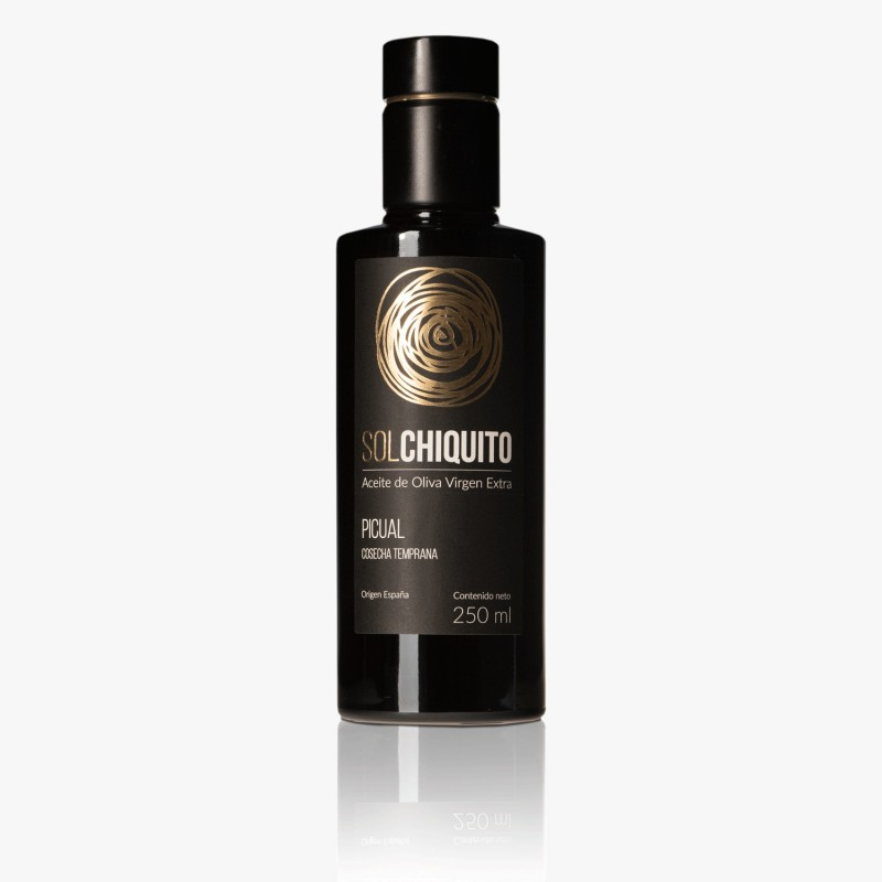 Aceite de Oliva Virgen Extra Picual de Cosecha Temprana 250 ml Sol Chiquito