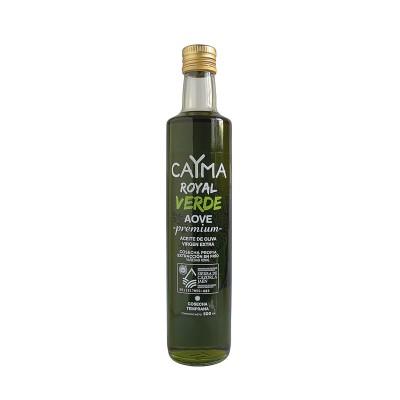 Aceite de Oliva Virgen Extra D.O. Royal Verde Premium 500 ml Cosecha propia CAYMA