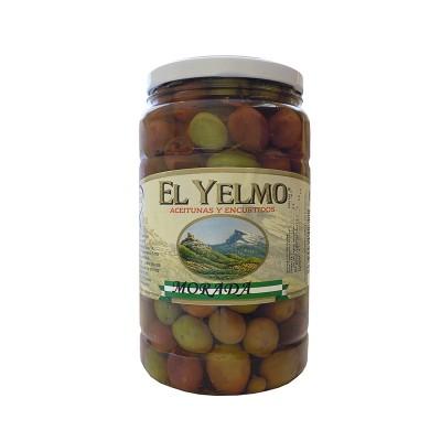 Aceituna Aliñada Morada 700 g Aceitunas y Encurtidos El Yelmo