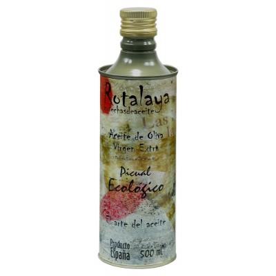 Lata de 500 ml de Aceite de Oliva Virgen Extra ECOLÓGICO Picual con D.O. Sierra de Cazorla