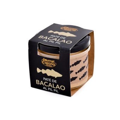 Paté de Bacalao al Pil Pil 110 g Gourmet Cazorla Premium