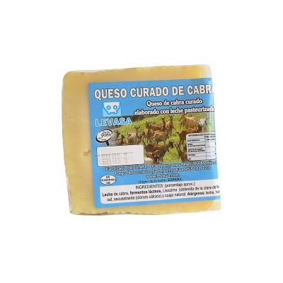 Cuña de Queso curado puro de Cabra 300-350 g Levasa