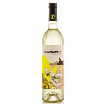 Vino Blanco Joven Campoameno Chardonnay 75 cl Cosecha 2019 12,5% Vol.