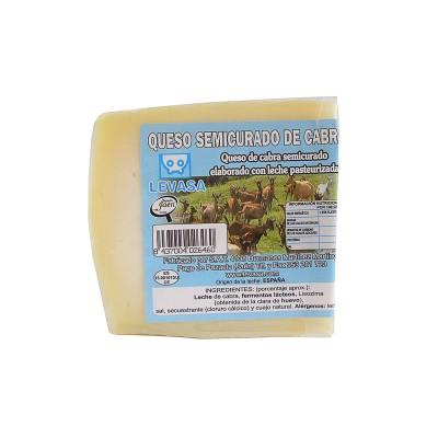 Queso semicurado puro de Cabra Levasa 100% natural