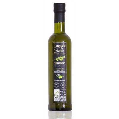 Botella de 500 ml de Aceite de Oliva Virgen Extra Picual D.O. Sierra de Cazorla