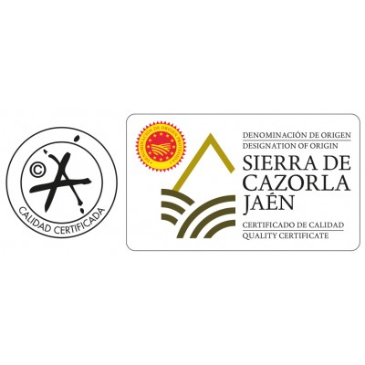 Calidad Certificada y Sello de la Denominación de Origen Protegida Sierra de Cazorla (Jaén)