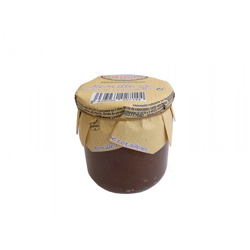 Morcilla de Caldera con Piñones Gourmet Cazorla 320 g