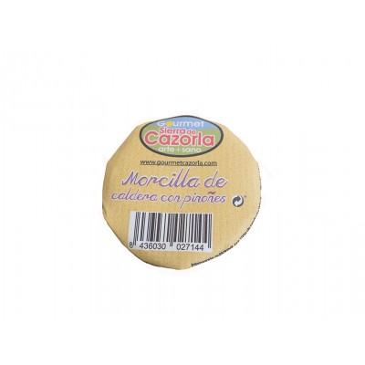 Morcilla de Caldera con Piñones Gourmet Cazorla 320 g tapa