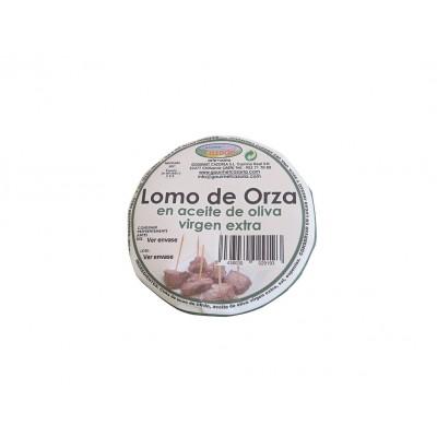 Lomo de Orza en AOVE Gourmet Cazorla 300 g tapa