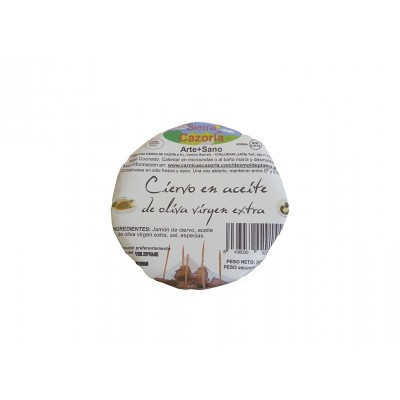 Ciervo en AOVE Gourmet Cazorla 300 g tapa