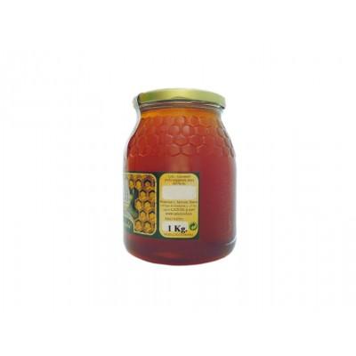 Miel de Flores Apicazorla 1 kg etiqueta